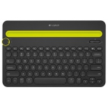 Клавиатура Logitech Multi-Device Keyboard K480 Bluetooth Black, купить за 2 920 руб.