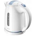 чайник электрический Philips HD4646, белый с синим