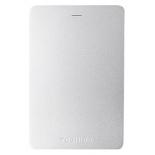 жесткий диск Toshiba CANVIO ALU 1TB, серебристый (HDTH310ES3AA)