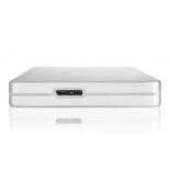 жесткий диск Toshiba CANVIO ALU 2TB, серебристый