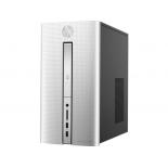 фирменный компьютер HP Pavilion 510-p170ur (Core i7-6700T 2800MHz/8.0Gb/1000Gb SSHD/DVD-RW/NVIDIA GeForce GTX950 2Gb/Wi-Fi/Bluetooth/Win 10 Home), серебристый