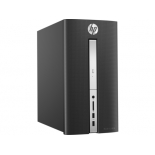 фирменный компьютер HP Pavilion 510-p132ur (Core i3-6100T 3200 MHz/8Gb/1000Gb SSHD/DVD-RW/NVIDIA GeForce GTX950 2Gb/Wi-Fi/Bluetooth/Win 10 Home), чёрный