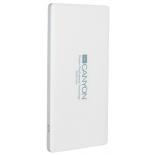 аккумулятор универсальный Мобильный аккумулятор Canyon CNS-TPBP5 (H2CNSTPBP5W) 5000 mAh, белый