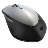 мышка HP H2W15AA X5500, черно-серебристая