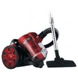 Пылесос Lumme LU-3208, черный/красный