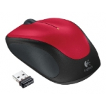 мышка Logitech Wireless Mouse M235, красная