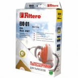 фильтр для пылесоса Filtero  EIO01 Экстра, комплект пылесборников