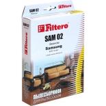 фильтр для пылесоса Filtero SAM02 Эконом, комплект пылесборников