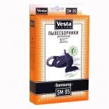 фильтр для пылесоса Vesta SM05, комплект пылесборников