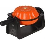 прибор для выпекания кексов GFgril GFW-025 Keks Express, черно-оранжевый