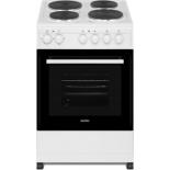 плита Simfer F50EW03001, белая