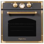 Духовой шкаф Kuppersberg RC 699 ANT, черно-золотистый