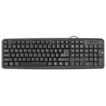 клавиатура Defender HB-420 USB,  черная