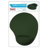 коврик для мышки Buro гелевый, Зеленый