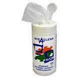 чистящая принадлежность для ноутбука Влажные чистящие салфетки Miraclean 24168