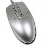 мышка A4Tech OP-720 PS/2, серебристая