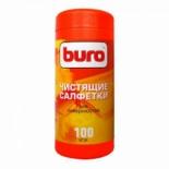 аксессуар к бытовой технике Чистящие влажные салфетки Buro BU-Tsurface