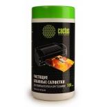 чистящая принадлежность для ноутбука Салфетки Cactus CS-T1002