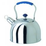 чайник для плиты Regent  93-2507B, стальной/синий