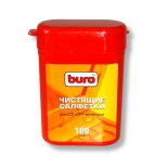 чистящая принадлежность для ноутбука Влажные салфетки Buro BU-tft