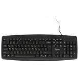 клавиатура Gembird KB-8351U-BL USB, черная