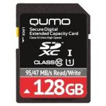 карта памяти Qumo SDXC Memory Card 128Gb UHS-I