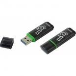 usb-флешка SmartBuy Glossy 16GB (RTL), темно-зеленая