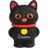 usb-флешка SmartBuy Wild Series Catty USB2.0 16Gb (RTL), чёрная