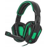 гарнитура для пк Defender Warhead G-275 (стерео), чёрно-зелёная