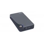 аксессуар для телефона Мобильный аккумулятор Buro RA-11000 (11000 mAh), серый/черный