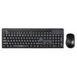 комплект Oklick 290M (клавиатура + мышь), черный