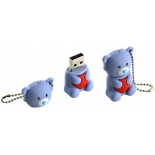 usb-флешка Iconik RB-BEARG-8GB (серый медведь)