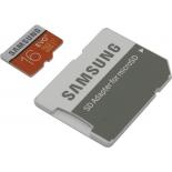 карта памяти Samsung 16Gb class10 Evo Plus, с адаптером