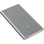 аккумулятор универсальный Внешний аккумулятор Xiaomi Mi Power Bank 5000 (5000 mAh), серебристый