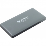 аксессуар для телефона Внешний аккумулятор Canyon CNS-TPBP10DG, темно-серый