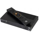 комплект спутникового телевидения НТВ-Плюс HD Simple Сибирь Старт, Черный