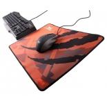 коврик для мышки Asus Strix Glide Speed, Оранжевый/Черный