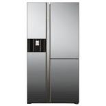 холодильник Hitachi R-M702AGPU4XMIR, серебристый
