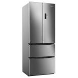холодильник Candy CCMN 7182 IXS (с морозильником), серебристый