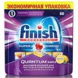 аксессуар для посудомойки Finish Quantum Max Лимон, (таблетки)