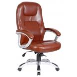 компьютерное кресло College XH-869, коричневая экокожа