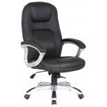 компьютерное кресло College XH-869, черная экокожа