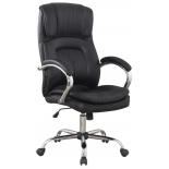 компьютерное кресло College BX-3001-1, черная экокожа