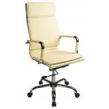 компьютерное кресло College  XH-635, бежевая экокожа