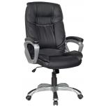 компьютерное кресло College XH-2002, черная экокожа
