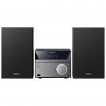 музыкальный центр Sony CMT-SBT40D/C, черно-серебристый