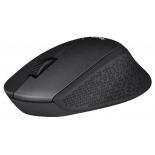 мышка Logitech M330 Silent Plus USB, черная