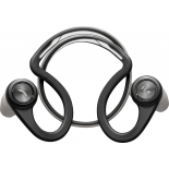 гарнитура bluetooth Plantronics BackBeat FIT, черно-серебристая