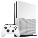 игровая приставка Microsoft  Xbox One S 500Gb + Minecraft (ZQ9-00048), белая