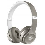 наушники Beats Solo 2 Luxe Edition, Серебристые (MLA42ZE/A)